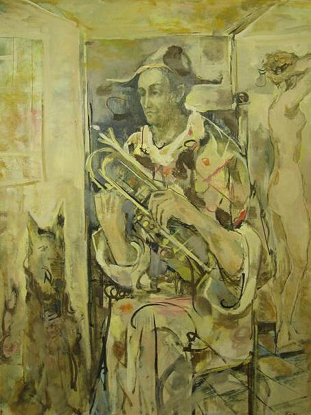 Arlequin à la trompette